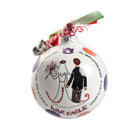 Exclusive War Eagle Wedding Ornament