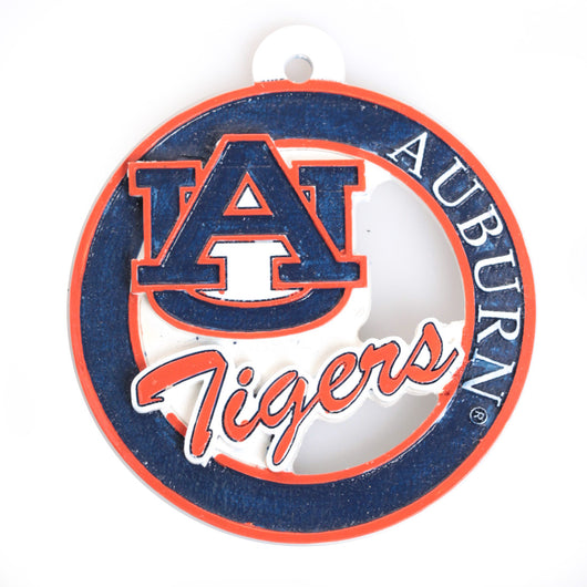 AU Logo Offset Ornament