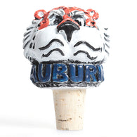 Aubie Head Bottle Stopper