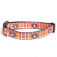 Plaid AU Dog Collar