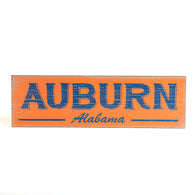 Auburn Alabama Wood Sign