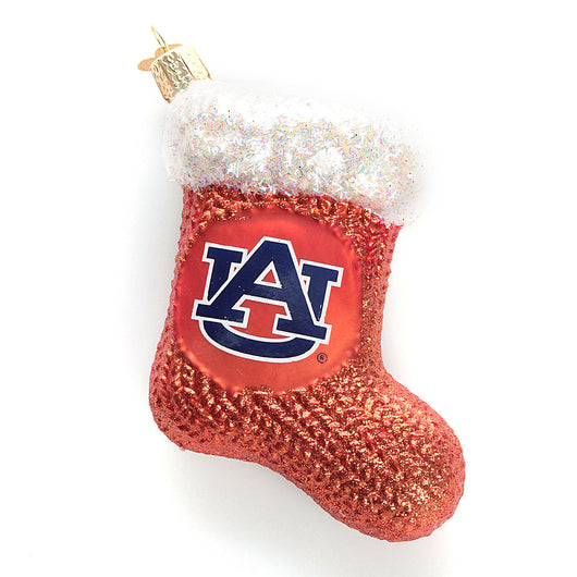 Auburn Stocking Ornament