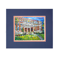 Comer Hall Framed Print