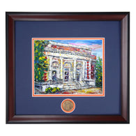 Auburn University Campus Landmark Building Mary Martin Hall Framed Print