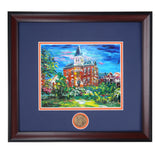 Auburn University Campus Landmark Building Hargis Hall Framed Print