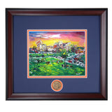 Auburn Football Tailgating at Jordan Hare Stadium Framed Print