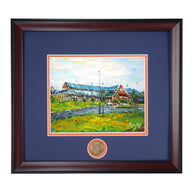 Large Animal Hospital Teaching Facility Framed Giclee' High Quality Print