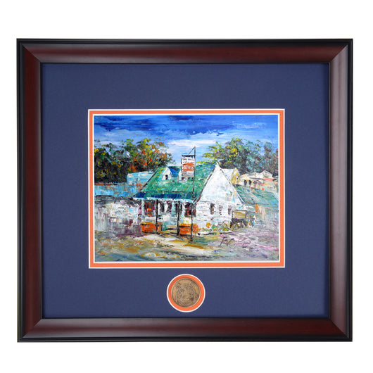 The Sani Freeze - An Auburn Tradition - High Quality Giclee Print