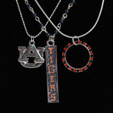 Auburn Trio Necklace