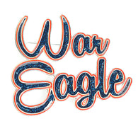War Eagle Pin