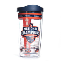 Auburn BCS National Championship 16 ounce Wrap Tervis with Lid
