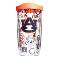 16 oz Auburn Bubble Tervis with Lid