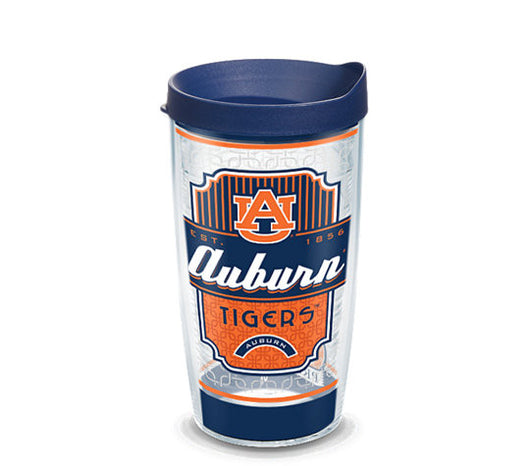 Auburn Southern Prep 16-ounce Tervis with Lid