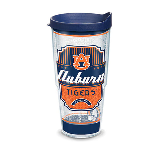 Auburn Southern Prep 24-ounce Tervis with Lid