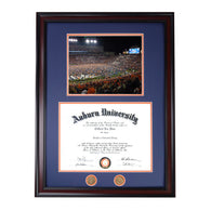Iron Bowl 2013 Family at the Goal Post Diploma Frame
