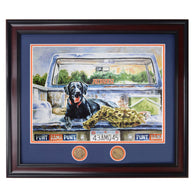 This Dog Will Hunt - Limited Edition Framed Print