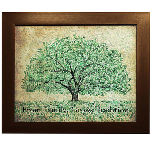 Auburn Thumbprint Family Tree - Toomer Oaks - Created A-Day 2013