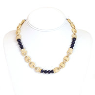 Short Nantucket Necklace Navy