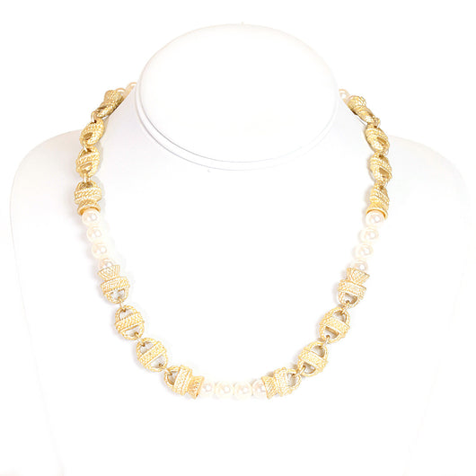 Short Nantucket Necklace Pearl