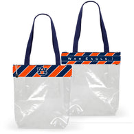 Clear Auburn Stadium Bag