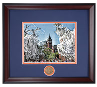 Rolled Toomer's 2010 National Championship Print