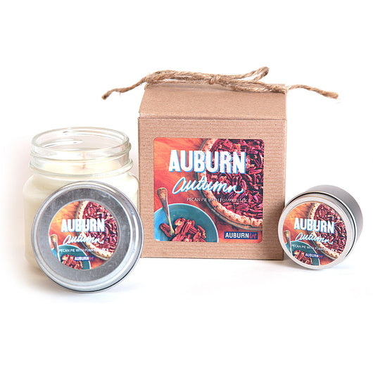 Auburn Autumn Candle - The Scent of Pecan Pie and Pumpkin Spice