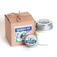 Magnolia Avenue Candle - The Scent of Magnolia and Jasmine