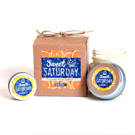 Sweet Saturday Candle - The Scent of Blueberry Muffins and Orange