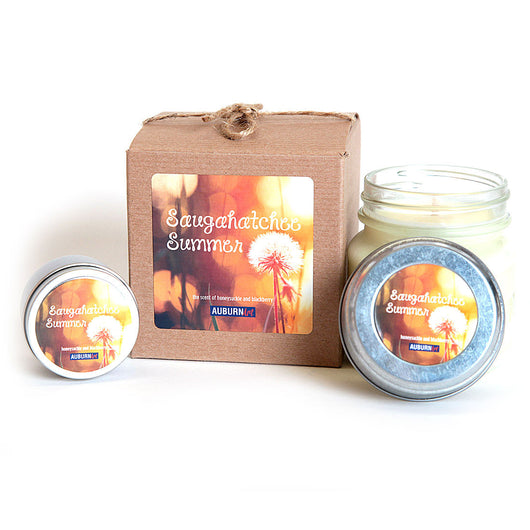 Saugahatchee Summer Candle - The Scent of Honeysuckle and Blackberry