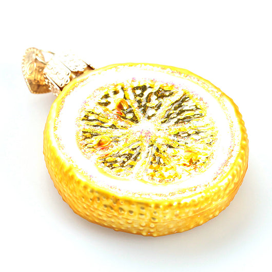 Lemon Slice Ornament