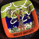 Victory at Auburn University Toomers Corner Plate - An Auburn Art Exclusive