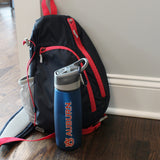 Auburn Water Bottle with Clip