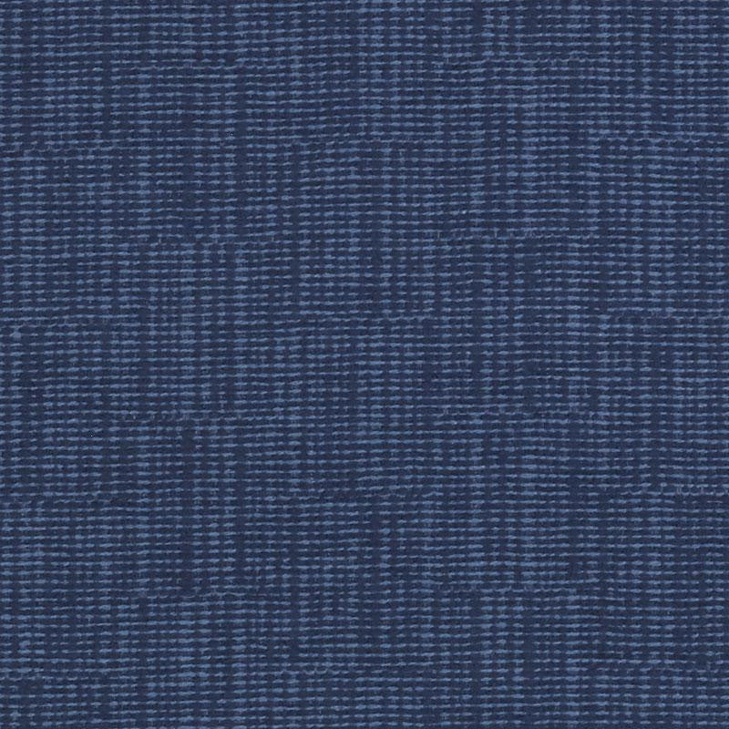 Emma Sofa, Navy Cryptonhome Texture Pattern, Sable Frame