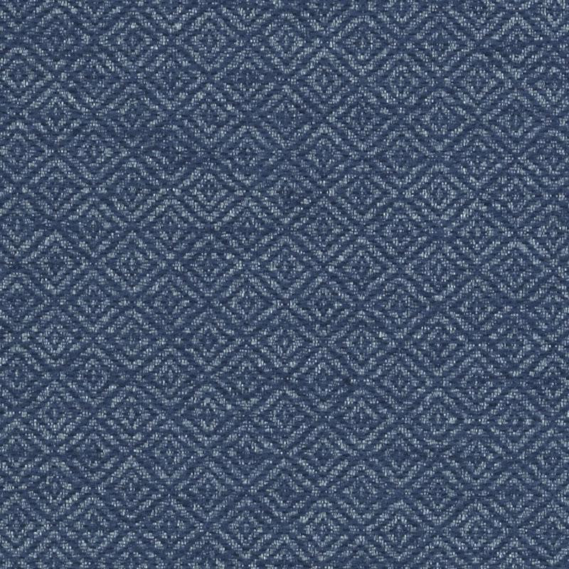Adeline Sofa, Navy Cryptonhome Diamond Pattern, Sable Frame
