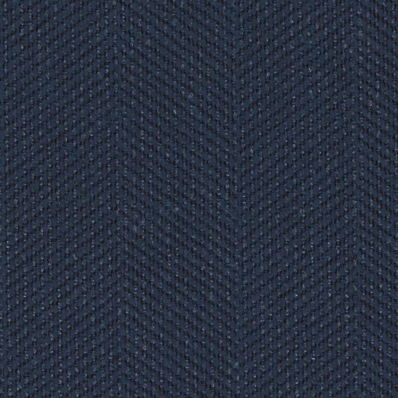 Emma Chair, Navy Cryptonhome Texture Herringbone Pattern, Sable Frame