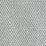 Emma Chair, Light Grey Cryptonhome Texture Herringbone Pattern, Sable Frame