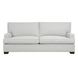 Adeline Sofa, Light Grey Cryptonhome Texture Pattern, Sable Frame