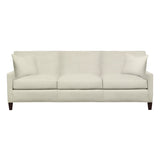 Emma Sofa, Cream Cryptonhome Diamond Pattern, Sable Frame