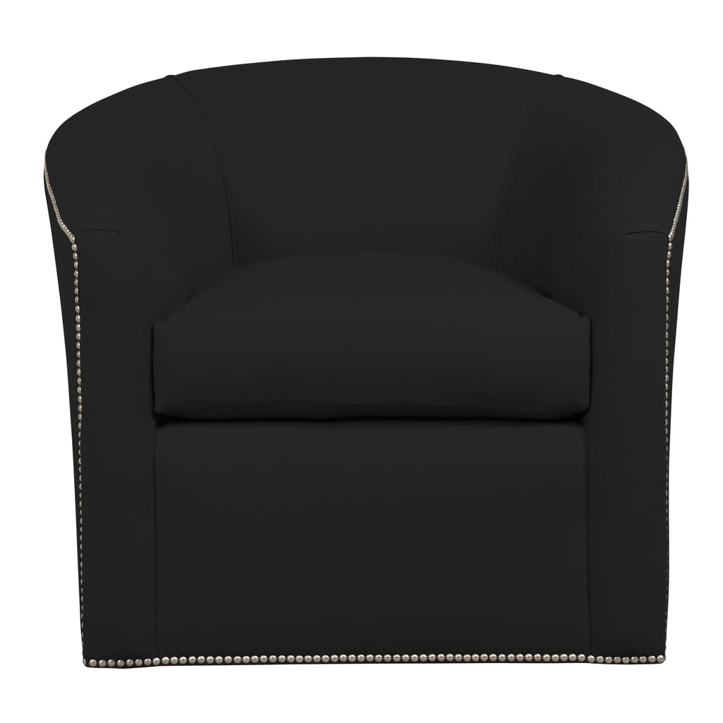 Harper Chair, Dark Grey Velvet