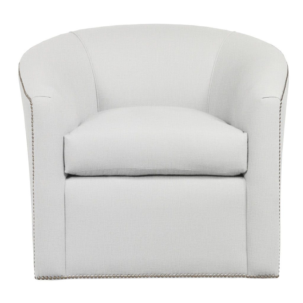 Harper Chair, Light Grey Cryptonhome Texture Pattern