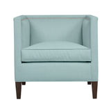 Cameron Chair, Seafoam Velvet , Sable Frame