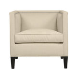Cameron Chair, Beige Velvet , Black Frame