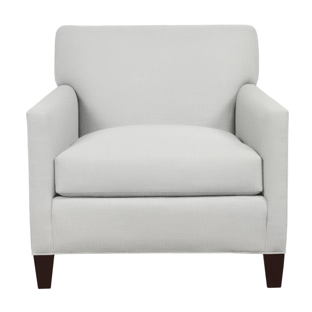 Emma Chair, Light Grey Cryptonhome Texture Pattern, Sable Frame