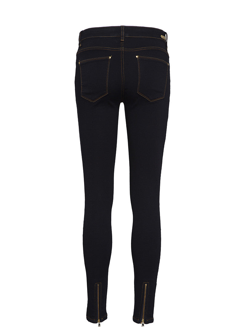 Mos Mosh Victoria 7/8 Skinny Jeans - Navy Blue