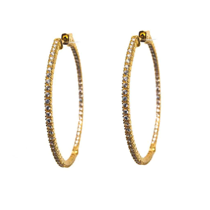 Icandi Rocks Eleanor Sparkly Hoops