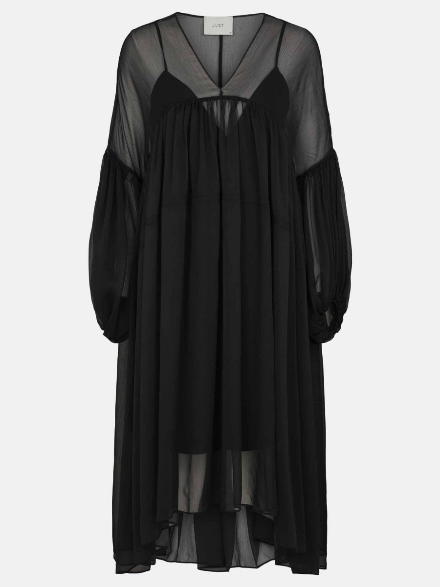 JUST Female Bisou Dress - Black