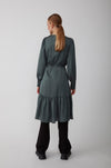 Just Female Minnie Wrap Dress - Balsam Green