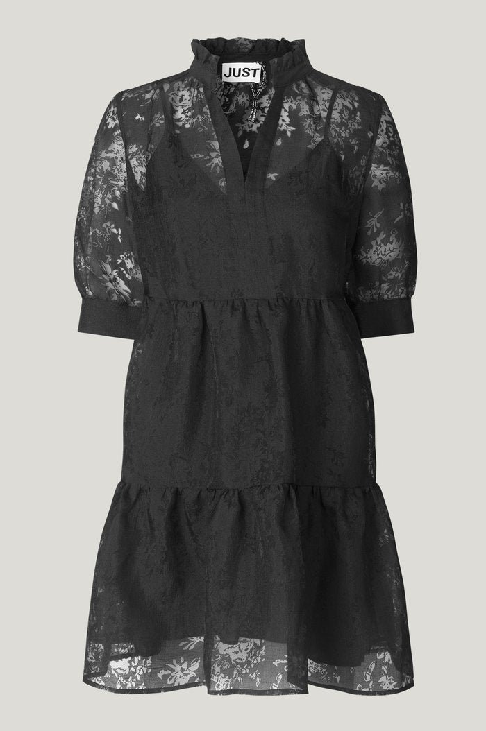 Just Female Kiki Lace Dress - Black