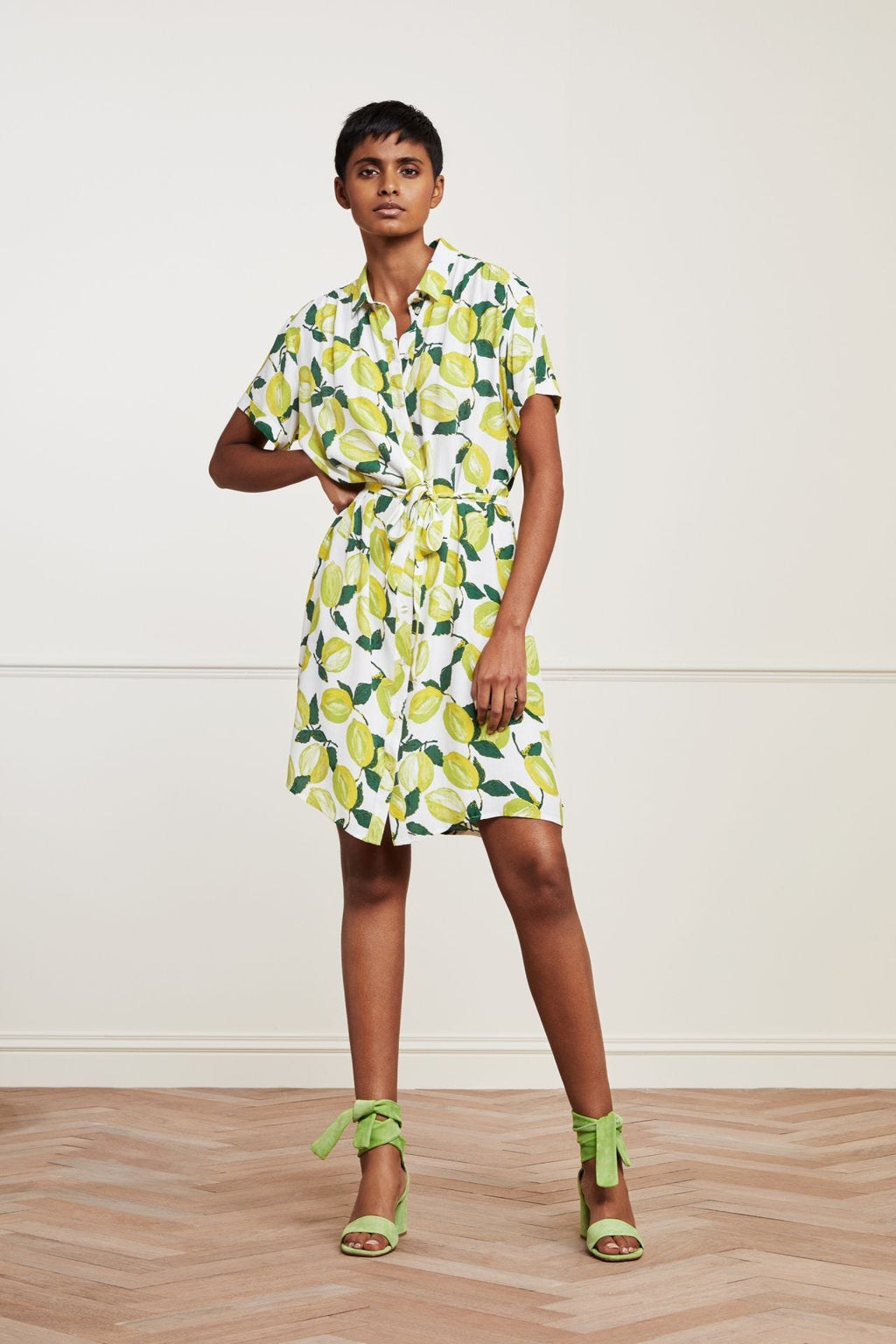 Fabienne Chapot Boyfriend Tess Dress - Lime Lights