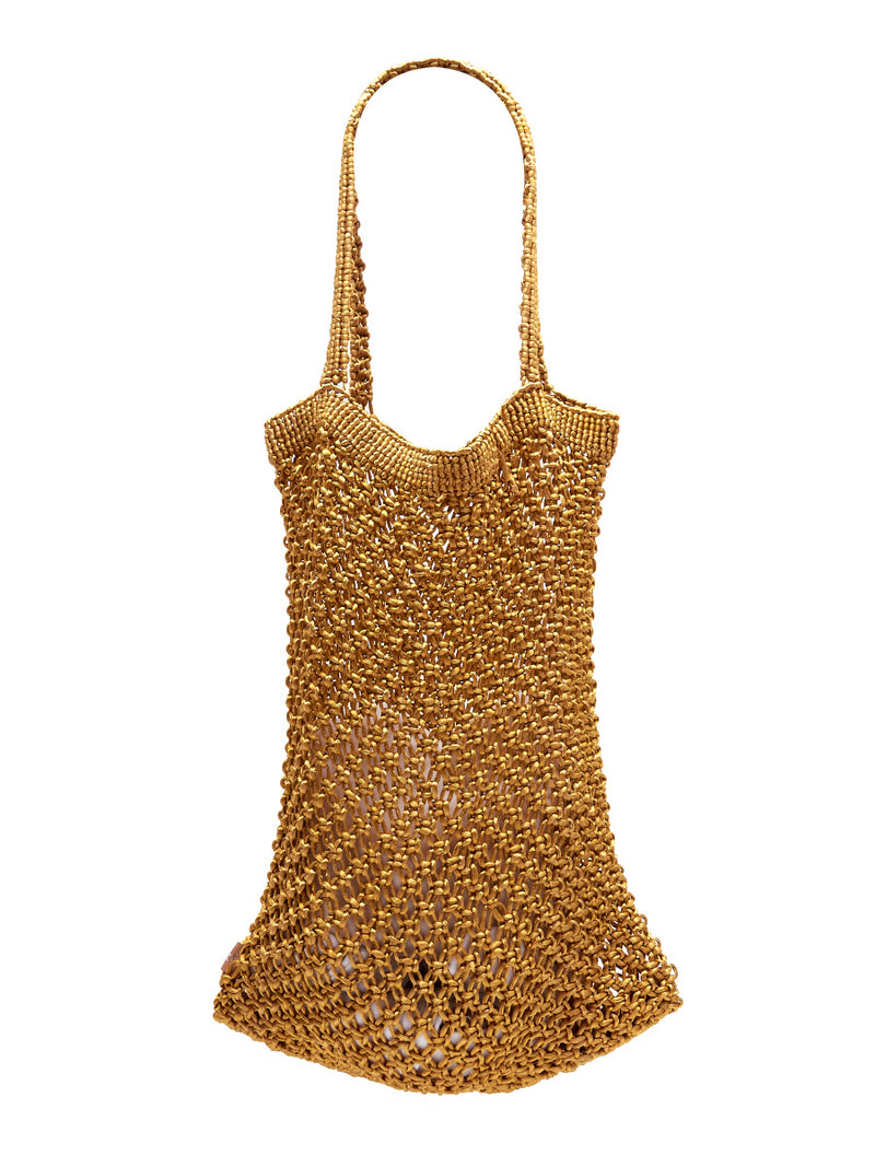Bell & Fox AIME Macrame Bag - Gold